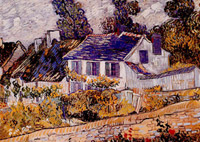 Houses at auvers, saint-remy (case ad auvers)