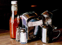 Still life with creamer